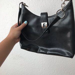 Vintage Bags - 3/$20⚡️VINTAGE Y2K Guess Mini Bag Silver Hoops